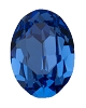 Vintage Swarovski 4128 Oval Fancy Stone 10x8mm Sapphire (144 Pieces) - CLEARANCE